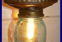 lampu dari toples