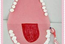 Dental Health Arts & Crafts / Fun ways to learn about your teeth with the family/