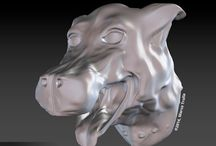 My experiments - 3D / Having fun by experimenting with 3D modeling and sculpting.