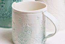 Lace mugs