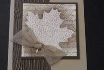 Stampin' Stuff-Fall / by MaryAnn Hilleary