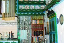 Village house decor