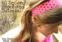 Accessories diy / girly things, headbands, bows