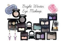 Bright Winter Eyeshadow