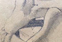 my work Friends feet #drawing #doodle #art #sketch #sketchbook #pencil #summer #startagain #semicolon #semicolonproject #semicolontattoo