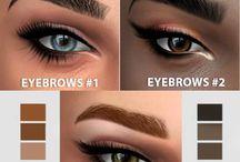 SIMS 4 cc eyebrow