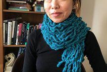 Womens Crochet Scarf PATTERN Pinterest, Crochet Scarf Pattern PDF, Warm Crochet Scarf, Crochet Scarves for Women, Winter Crochet
