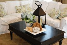 Coffee table decor / by Nancy Medvick