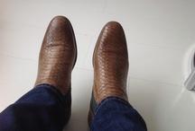 Men shoes / Snake design