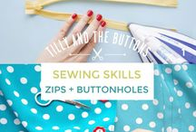 Zippers / Zippers: sewing tutorials, tips, and tricks