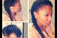 nia's hair