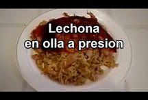 Lechonas Variadas