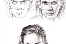 Disegnare facce