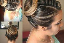 Penteado / penteados feitos por mim