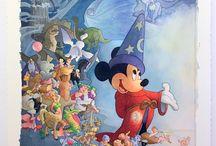 Disney Art  / Art from the Disney movie classics