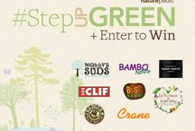 #StepUPGreen / It's time to celebrate #EarthMonth with a giveaway! We want to know how YOU #StepUPGreen to improve our world. The winner will receive a prize bundle with goodies from Earth-friendly brands like Crane USA, Clif Bar, Badger Balm, Earth Mama Angel Baby, Bambo Nature, Molly's Suds, Chagrin Valley Soap, Bitsy's Brainfood, and Naturepedic. Enter here: http://bit.ly/StepUPGreen