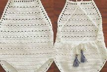 mayas y bikini crochet