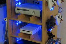 meuble console de jeux