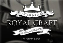 Royal Craft Guitars - Saucy Beauty / ROYAL CRAFT GUITARS. GUITAR WORKSHOP. CUSTOM SHOP. ONLY WITH LOVE AND TENDERNESS WE CREATE OUR GUITARS! WE KNOW YOUR PASSION. WE KNOW A WAY TO PERFECTION. CLASSIC LOOKS. MODERN PERFORMANCE.  Germany / 55543 Bad Kreuznach / Royal Craft Guitars / Artur Mihalas
