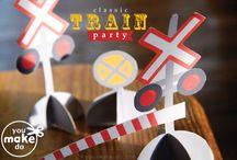 Past parties- trains