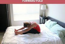 Yoga i sängen