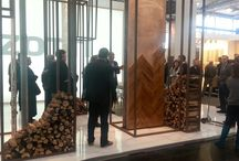 Domotex 2016 / Group of International Architects visiting Gazzotti and Idee & Parquet Stand @ Domotex 2016