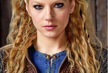 Причёски викингов