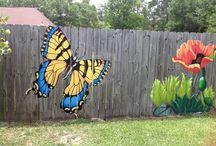 Garden Murals