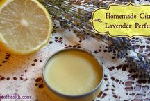 Homemade perfume / by Connie Burgdorf
