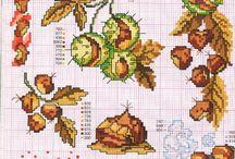 Keresztszem - ősz, levelek, egyebek