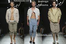 Bottega Veneta uomo / Bottega Veneta collezione e catalogo primavera estate e autunno inverno abiti abbigliamento accessori scarpe borse sfilata uomo.