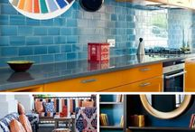 Pantone Color Palettes 2018 / Interior spaces that incorporate Pantone's Color Palettes of the year.