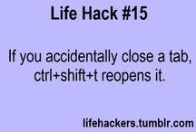 life Hackz..!!