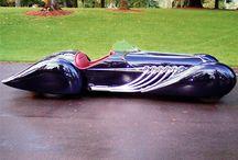 Streamlined cars