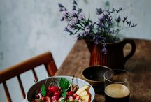 Food Photography Dining table