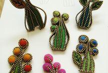 zipper diy jewelry