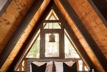 A frame houses / Casa de vacanta