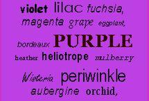 Prettyfull Purple  / by Rae Hoover