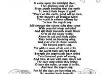 kerst en liedjes teksten