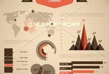 Brown infographics