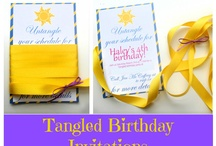 Candace's Tangled Third Birthday / by Stephen N Rachael Claybourn