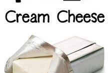 freeze cream cheese
