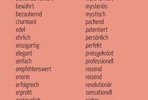 Magische Adjektive