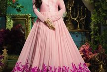 Indian Gown Online / Indian Gown - Shop the latest designer Indian gown online at the best price with free shipping worldwide - https://www.inddus.com/salwar-kameez/gown-style-suits.html