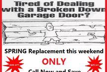 Garage Door Springs Special Genesis Garage Door Repair