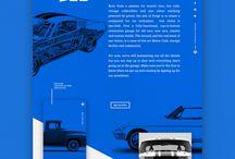 Сайт промо про авто