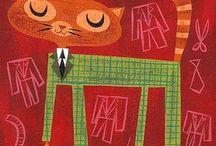 Cats - illustrations / Gatos -ilustraciones