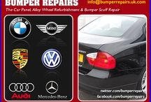 Car Body Repair Videos / Specialist mobile bumper scuff repair, curbed & scratched alloy wheel refurbishment, paintwork key scratch repair, minor crack and dent removal with full manufacturer paint code and surface texture matching to customers located in many parts of London, Hertfordshire, Essex, Surrey, Kent & Sussex