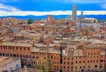 Siena, Toskania, Włochy / Siena to jedno z najpiękniejszych, włoskich miast. Położone w sercu Toskanii, pełne średniowiecznych śladów przeszłości zachwyca architekturą i wyjątkową atmosferą.