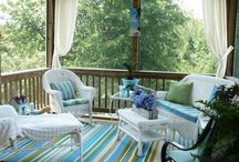 screened porches... / by Tracie Riggans
